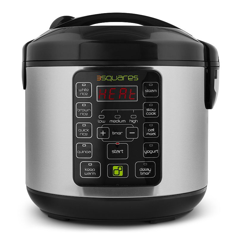3 Squares Tim3 Machin3 20-Cup Rice Cooker