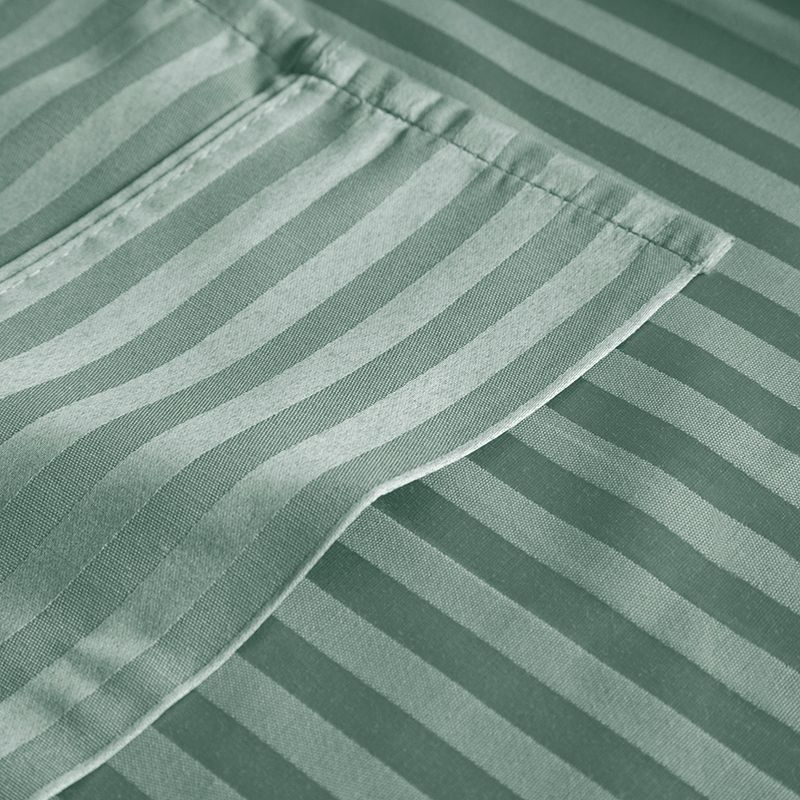 Portsmouth Home Dobby Stripe 300-Thread Count Sateen Sheets