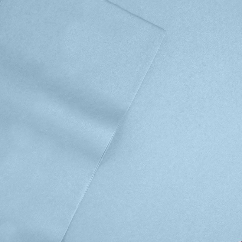 Veratex American Collection Solid 300-Thread Count Egyptian Cotton Sateen Deep-Pocket Sheets