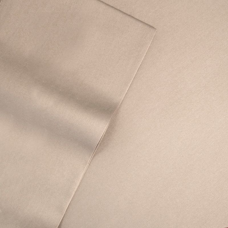 Veratex American Collection Solid 500-Thread Count Egyptian Cotton Sateen Deep-Pocket Sheets