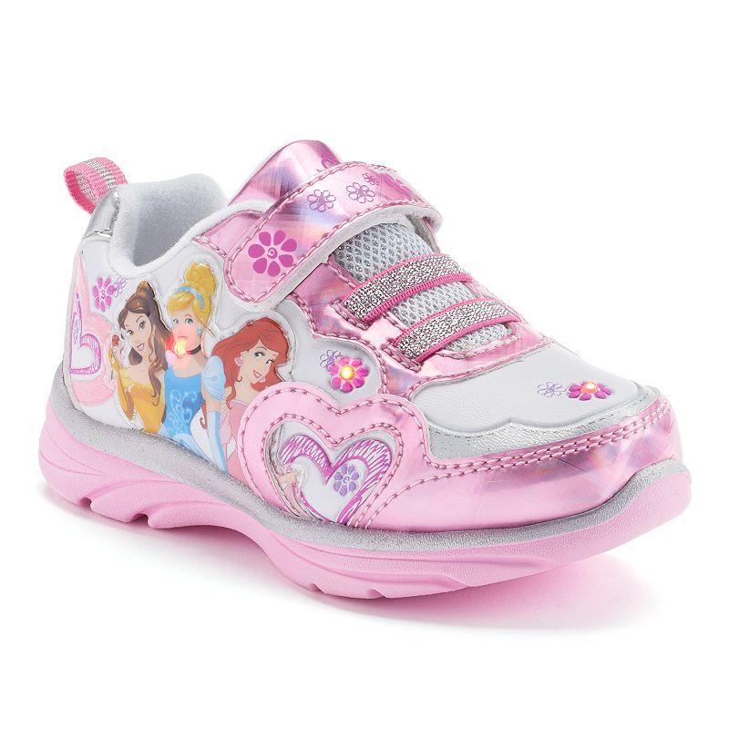 Disney Princess Toddler Girls' Light-Up Sneakers