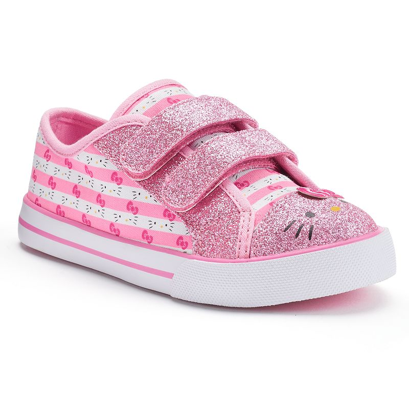 Hello Kitty® Toddler Girls' Glitter Sneakers