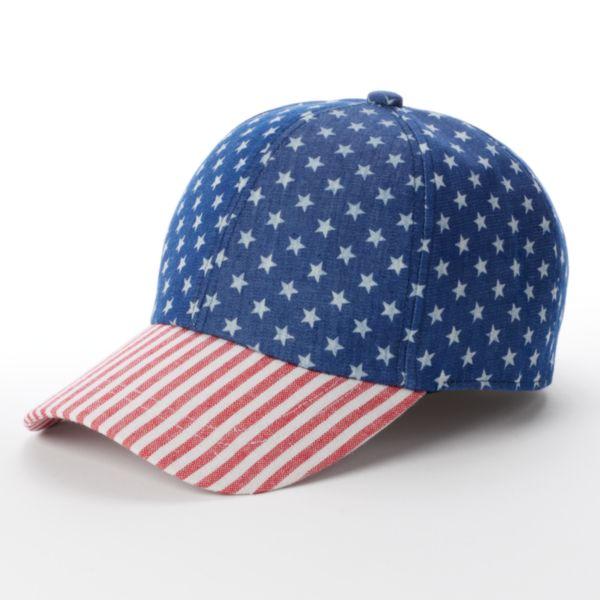 SONOMA Goods for Life™ Patriotic Baseball Hat - Women's