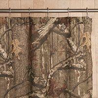 Mossy Oak Infinity Camo Fabric Shower Curtain