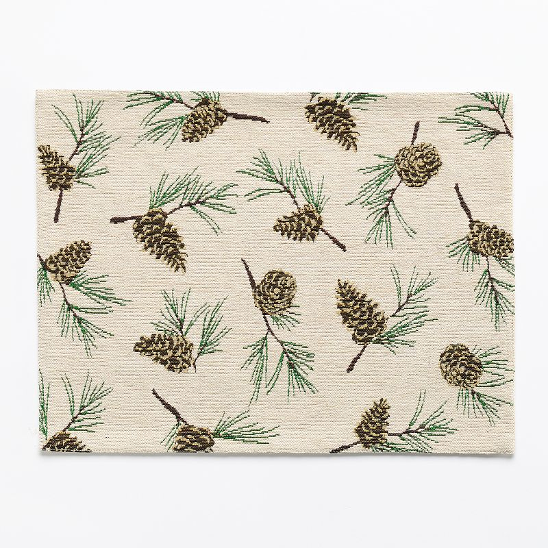 SONOMA Goods for Life™ Chenille Pinecone Toss Placemat