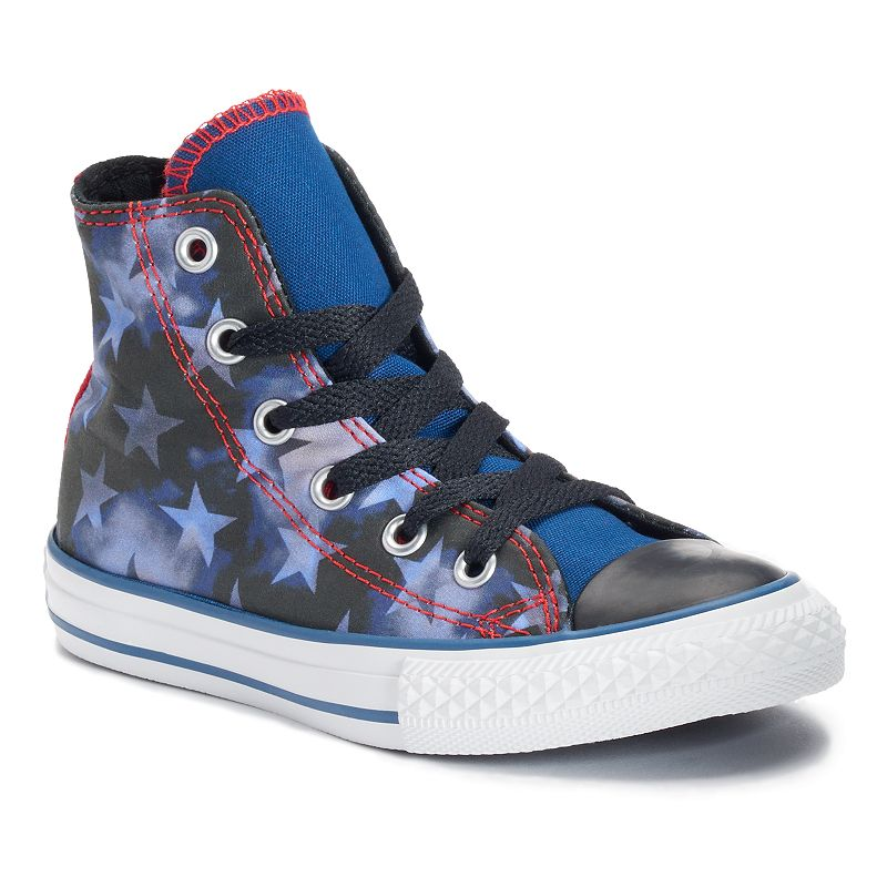 Kid's Converse Chuck Taylor All Star Patriotic High-Top Sneakers