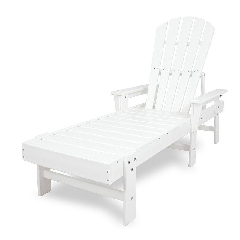 POLYWOOD® South Beach Outdoor Chaise Lounge Chair