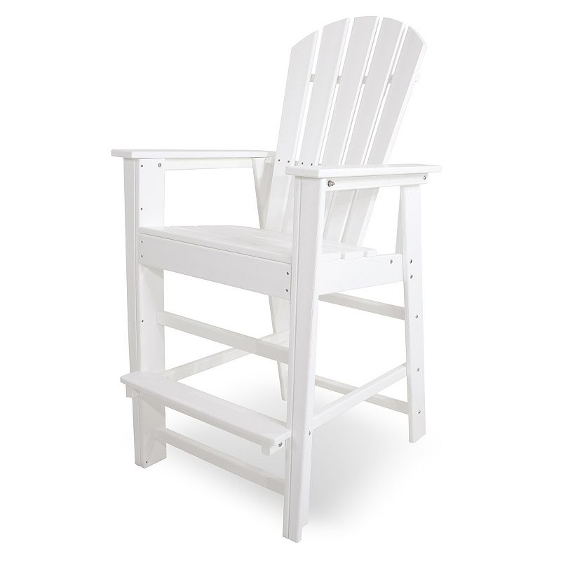 POLYWOOD® South Beach Outdoor Bar Chair
