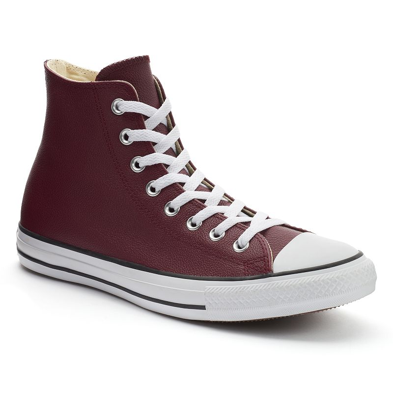 Men's Converse All Star Leather High-Top Sneakers