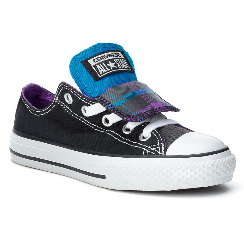 Kid's Converse All Star Double-Tongue Sneakers