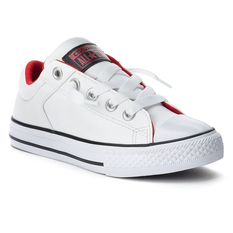 Kid's Converse All Star Leather Sneakers