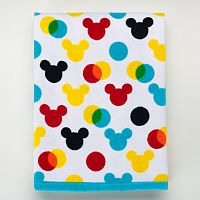 Disney's Mickey Mouse Polka Dot Bath Towel by Jumping Beans®