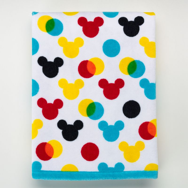 Disney's Mickey Mouse Polka-Dot Bath Towel