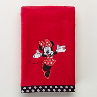 Disney's Minnie Mouse Applique Hand Towel by Jumping Beans®