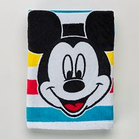 Disney's Mickey Mouse Striped Hand Towel by Jumping Beans®