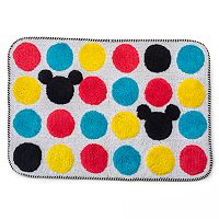 Disney's Mickey Mouse Polka Dot Bath Rug by Jumping Beans®