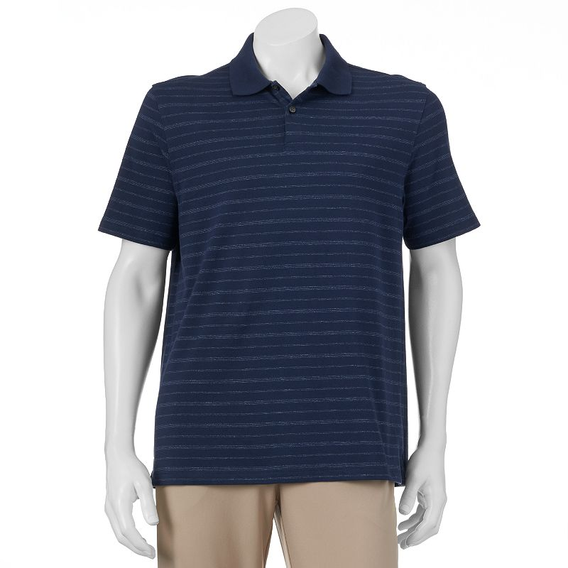 Van Heusen Striped Traveler Performance Polo - Men