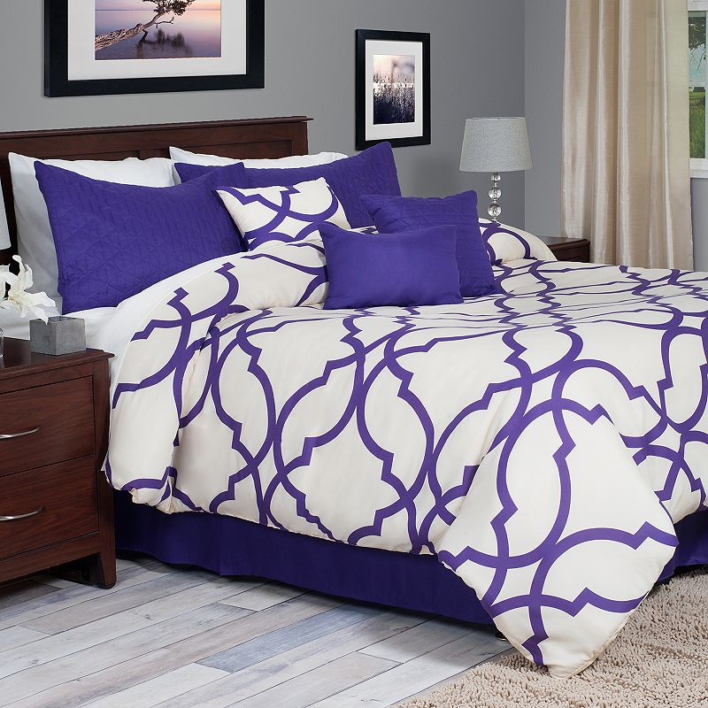 Portsmouth Home Trellis 7-pc. Comforter Set