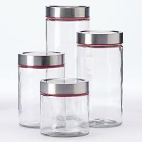 Food Network™ 4-pc. Kitchen Canister Set