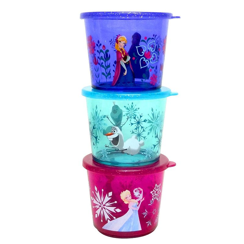 Disney's Frozen Kid's 3-pc. Melamine Snack Container Set by Jumping Beans®
