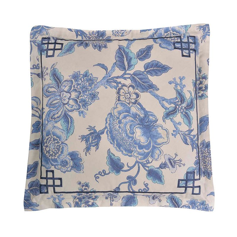 Williamsburg Persiana Floral Throw Pillow
