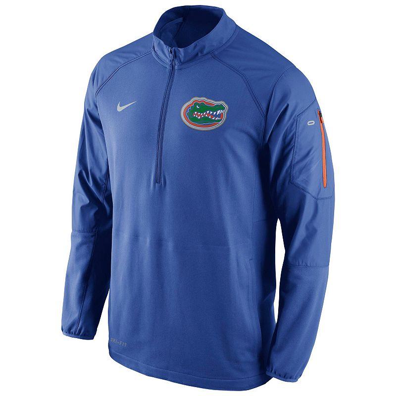 Men's Nike Florida Gators Quarter-Zip Hybrid Jacket