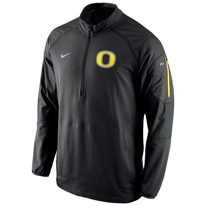 Men's Nike Oregon Ducks Quarter-Zip Hybrid Jacket