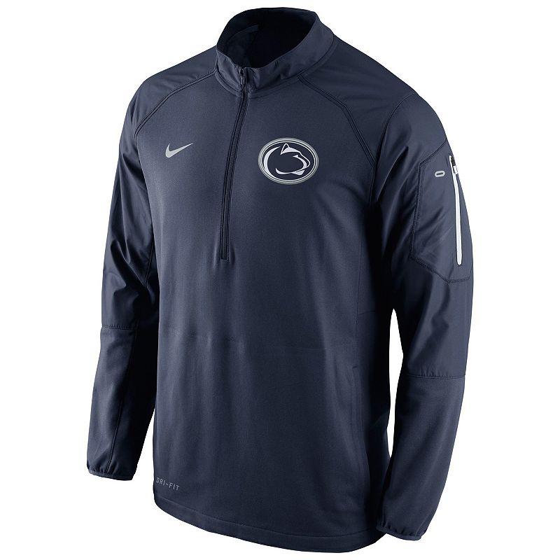 Men's Nike Penn State Nittany Lions Quarter-Zip Hybrid Jacket