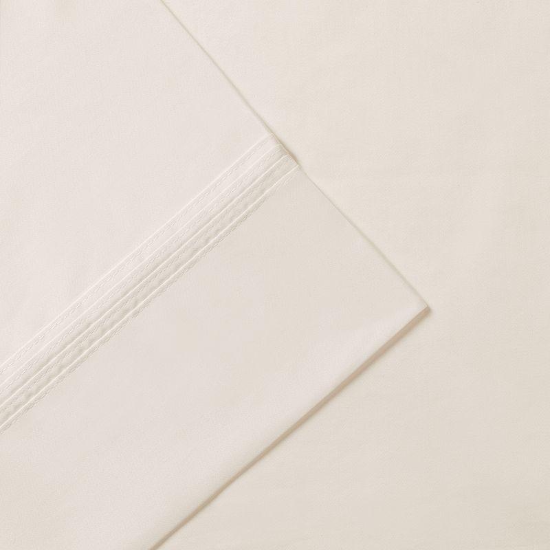 Madison Park Signature Solid 600-Thread Count Pima Cotton Deep-Pocket Sheets