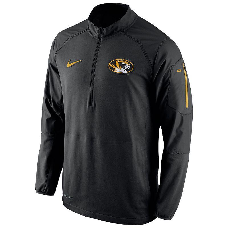 Men's Nike Missouri Tigers Quarter-Zip Hybrid Jacket