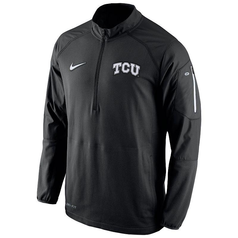 Men's Nike TCU Horned Frogs Quarter-Zip Hybrid Jacket