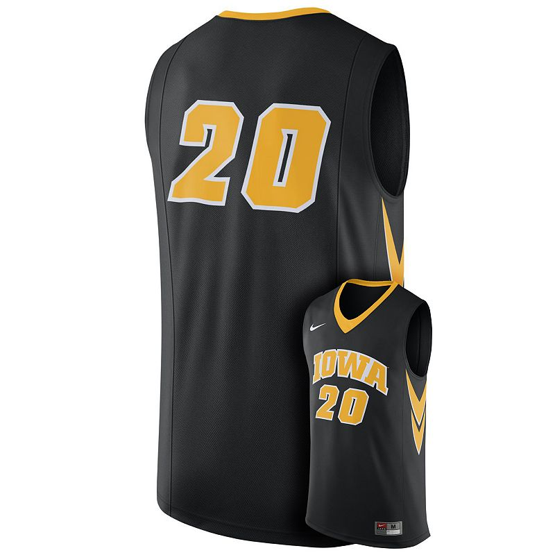 Men's Nike Iowa Hawkeyes Replica Basketball Jersey