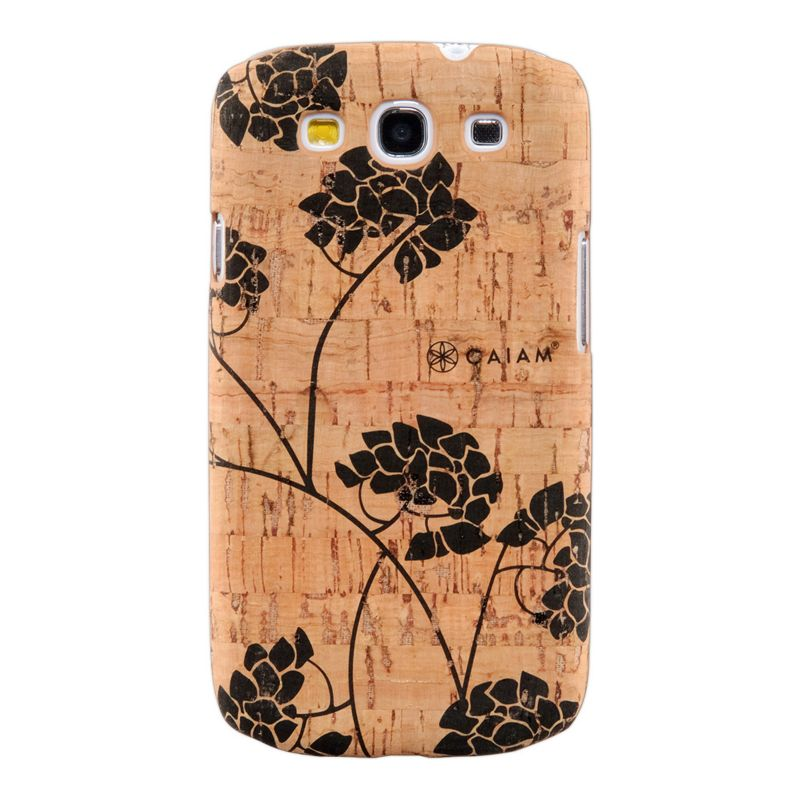 Gaiam Samsung Galaxy S3 Cork Cell Phone Case, Brown