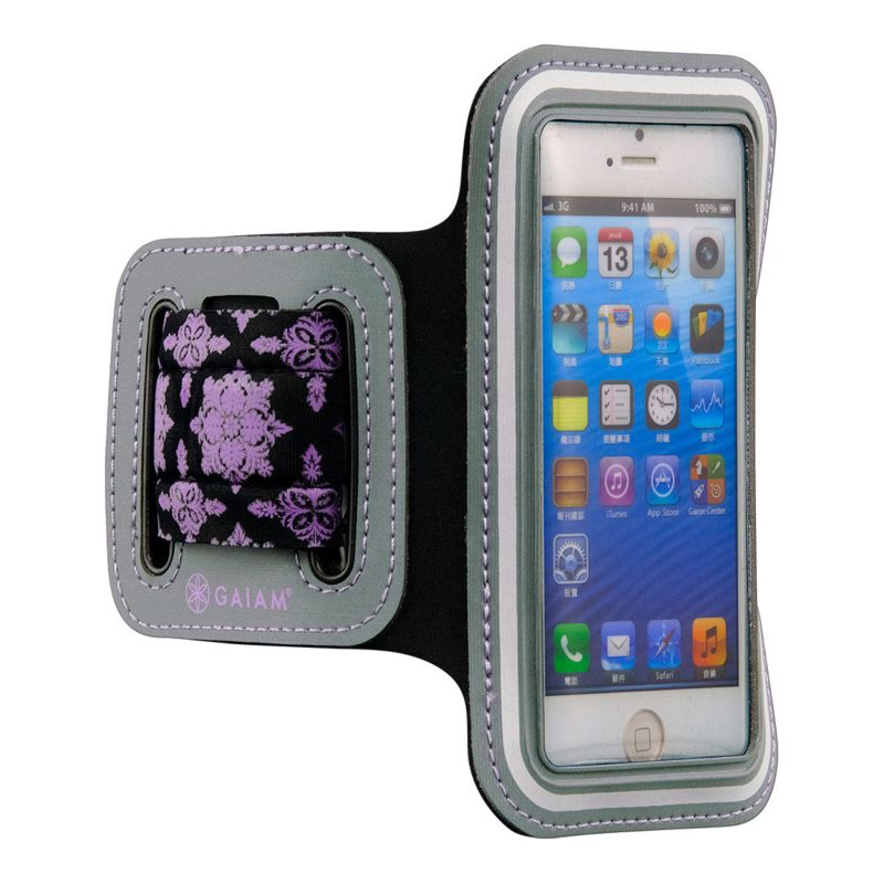 Gaiam iPhone 5 \/ 5S Sport Armband, Purple