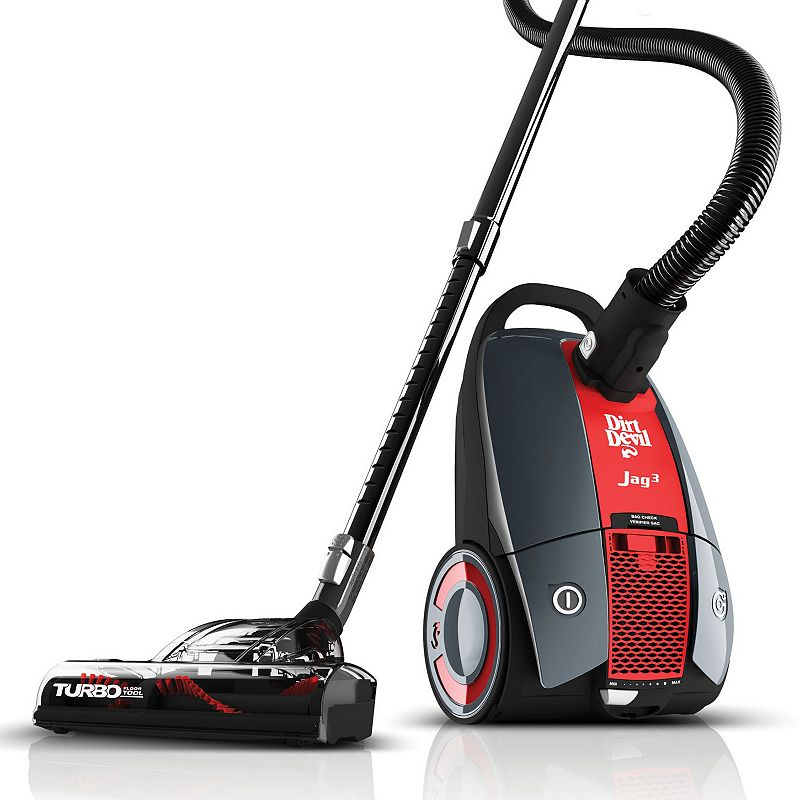Dirt Devil Jag 3 Multi-Bagged Canister Vacuum