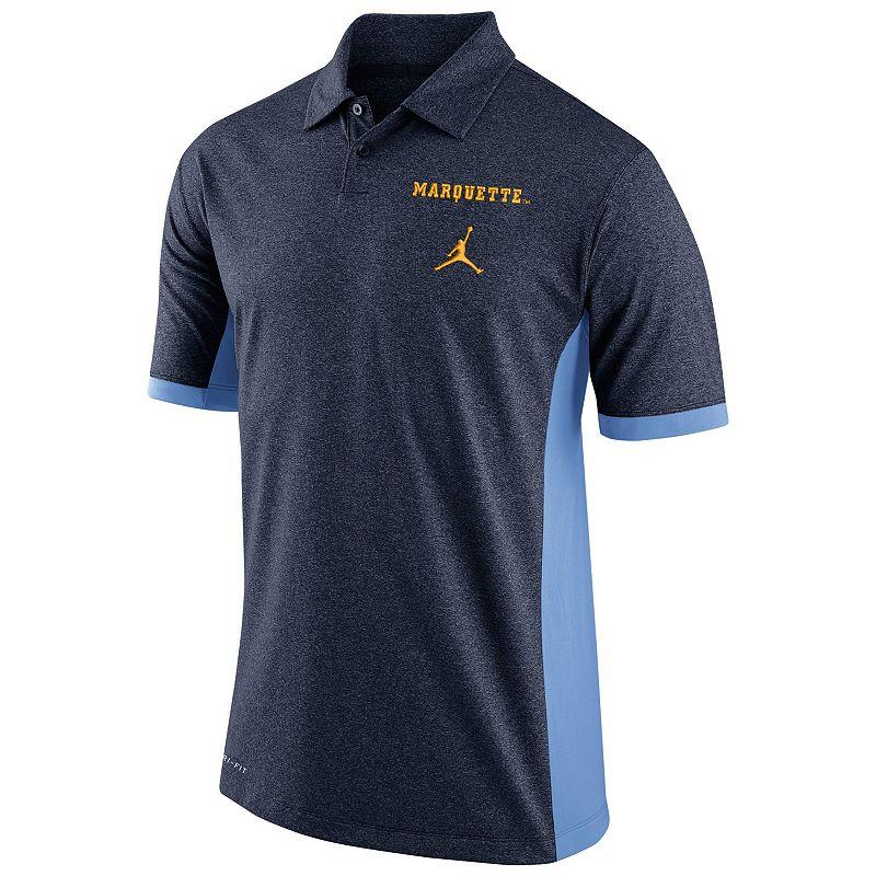 Men's Nike Marquette Golden Eagles Basketball Polo