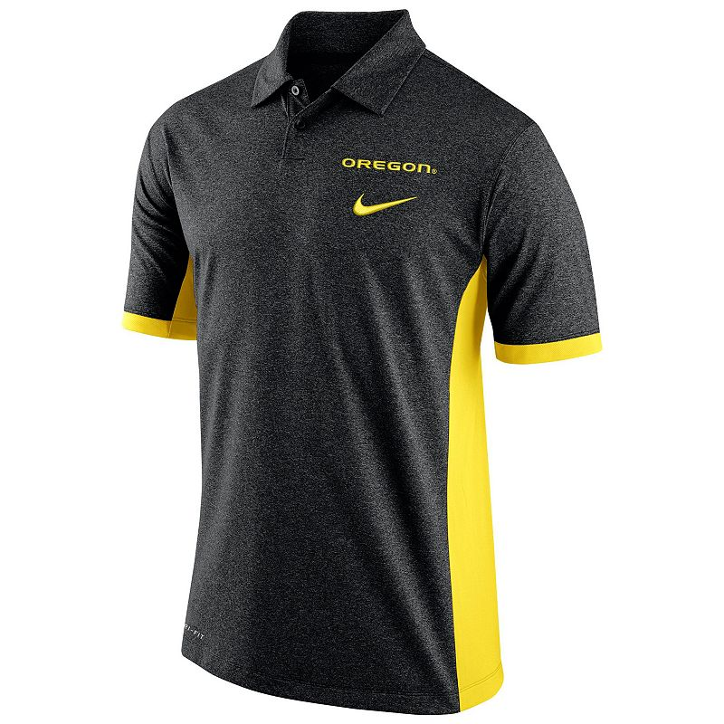 Men's Nike Oregon Ducks Colorblock Basketball Polo