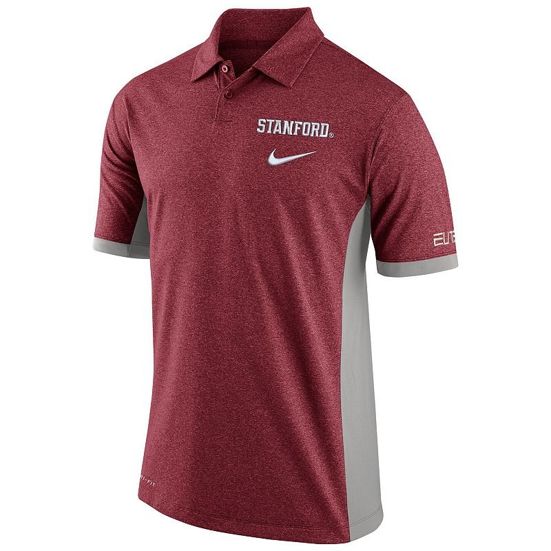 Men's Nike Stanford Cardinal Basketball Polo