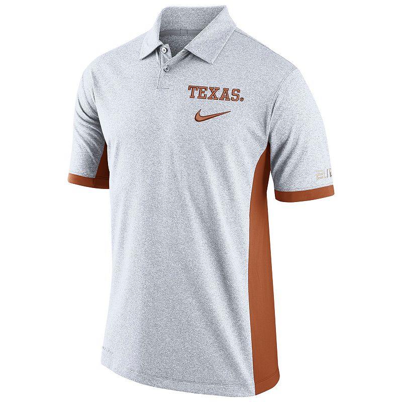 Men's Nike Texas Longhorns Colorblock Basketball Polo
