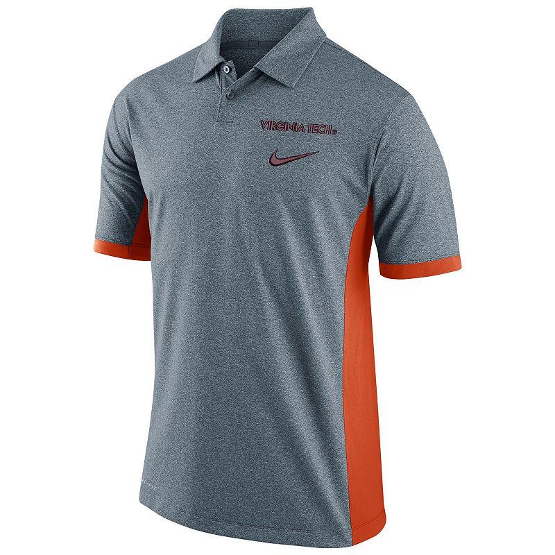 Men's Nike Virginia Tech Hokies Basketball Polo