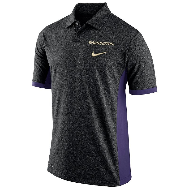 Men's Nike Washington Huskies Basketball Polo