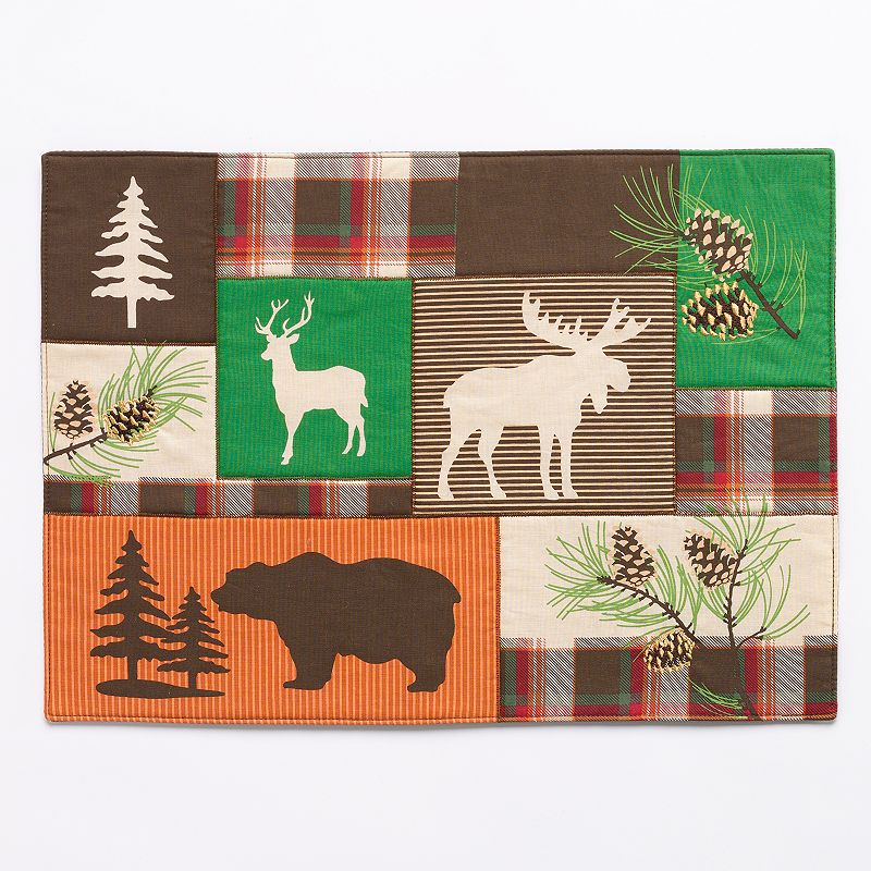 SONOMA Goods for Life™ Plaid Patch Animal Placemat