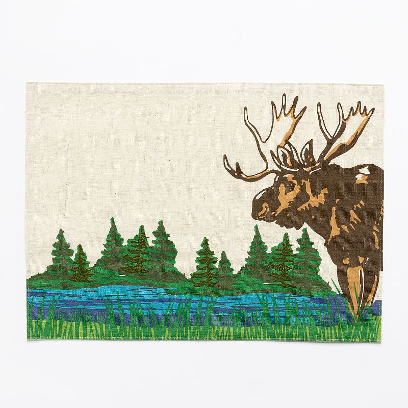 SONOMA Goods for Life™ Moose & Water Placemat