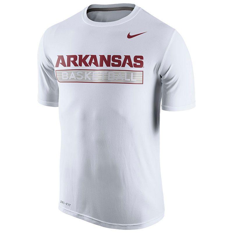 Men's Nike Arkansas Razorbacks Basketball Practice Dri-FIT Tee