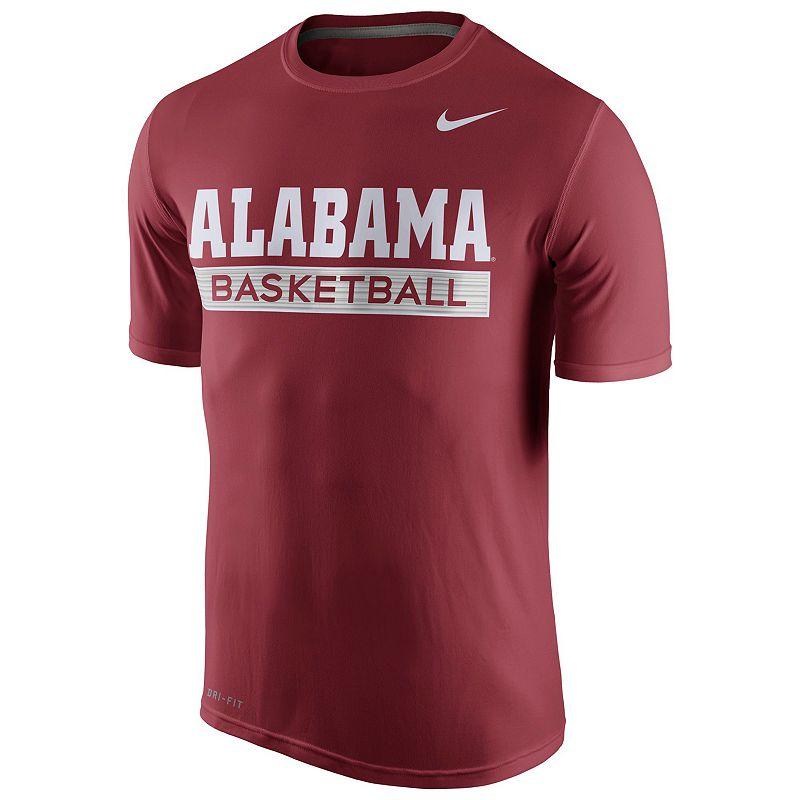 Men's Nike Alabama Crimson Tide Basketball Practice Dri-FIT Tee