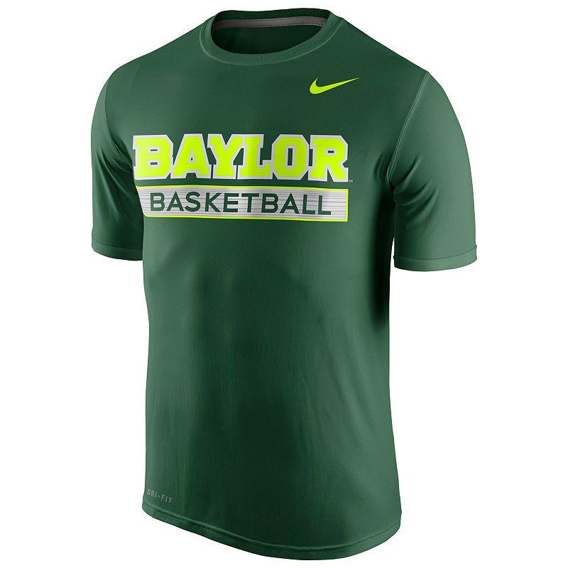 Men's Nike Baylor Bears Basketball Practice Dri-FIT Tee