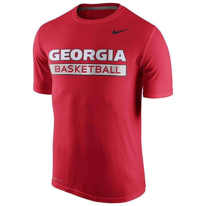 Men's Nike Georgia Bulldogs Basketball Practice Dri-FIT Tee