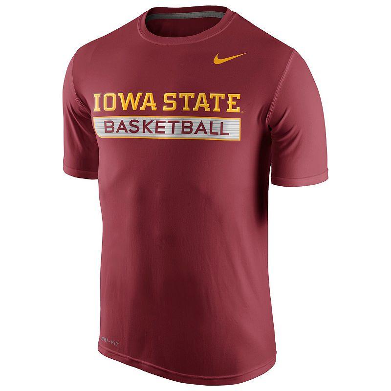 Men's Nike Iowa State Cyclones Basketball Practice Dri-FIT Tee