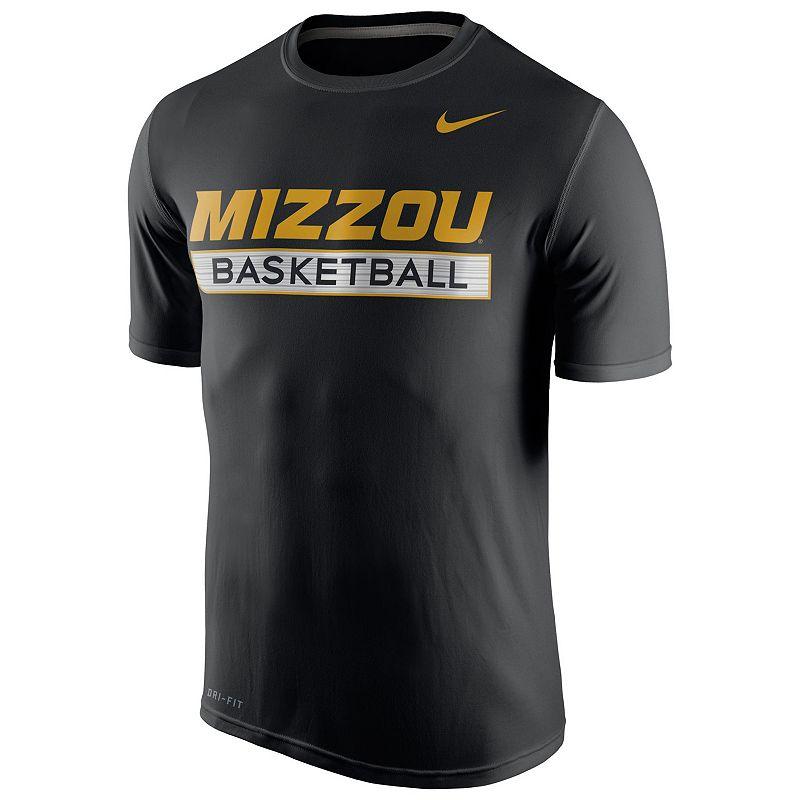 Men's Nike Missouri Tigers Basketball Practice Dri-FIT Tee