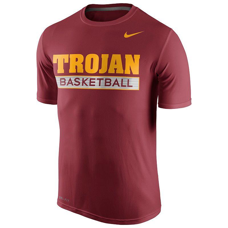 Men's Nike USC Trojans Basketball Practice Dri-FIT Tee